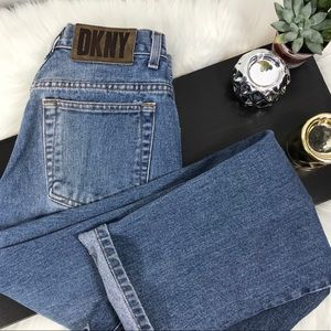 Vintage DKNY High Waisted Mom Jeans #213